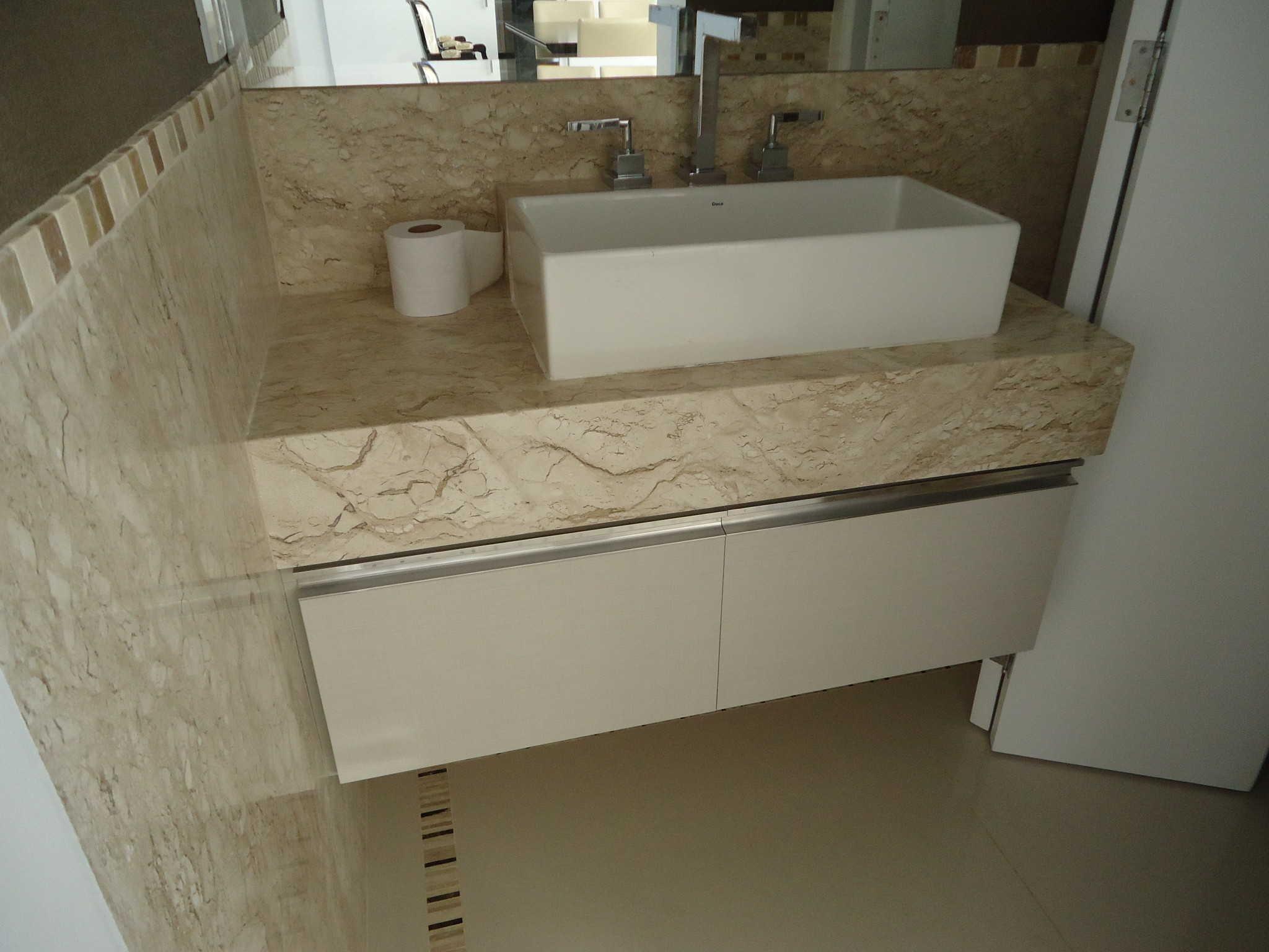 Projeto lavabo 5 roc marcenaria for Gabinete para lavabo