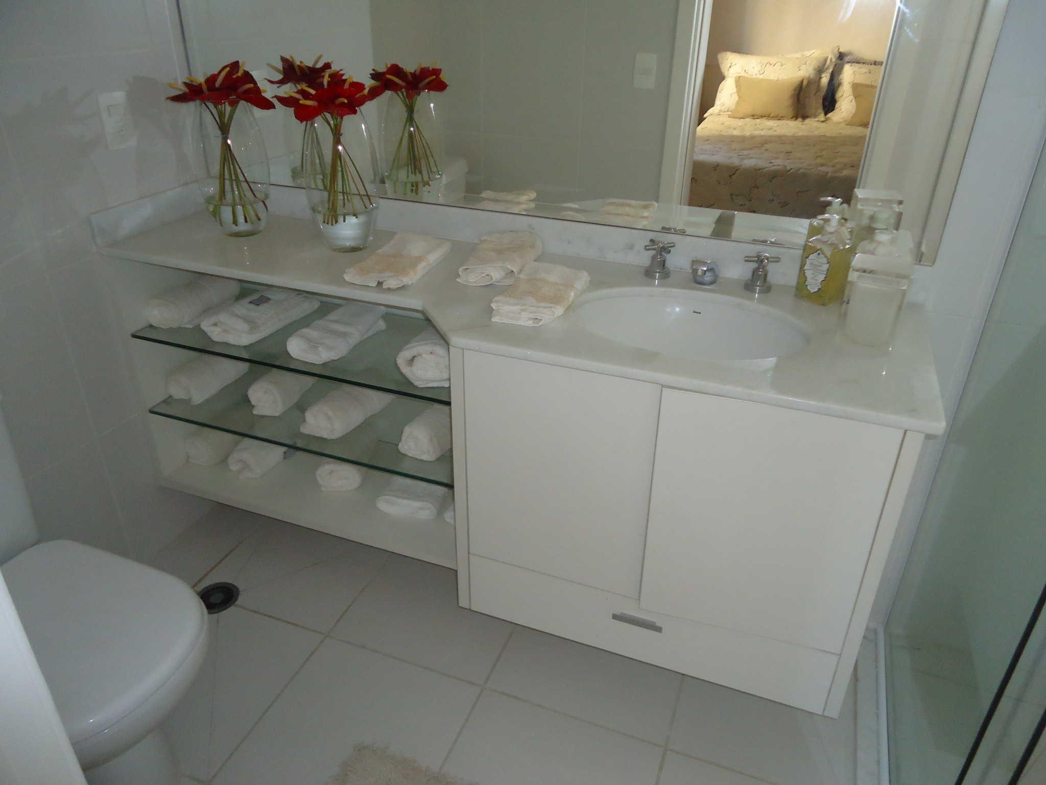 Projeto Lavabo 8  Roc Marcenaria -> Gabinete De Banheiro Canto